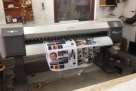 Mutoh Vj 1604  with builk ink and permanent chip