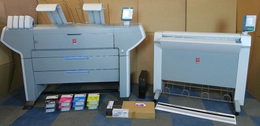 For Sale Oce Tc4 Copy Scan Scanner Amp Oce Colorwave 650