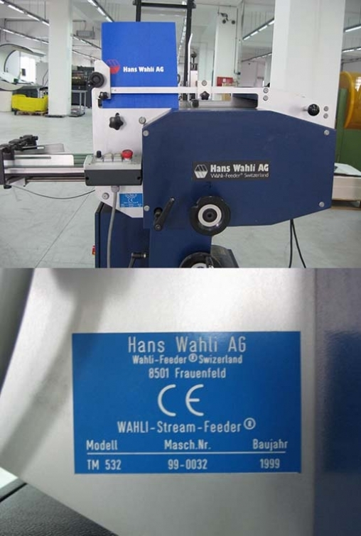 Wahli Envelope Feeder