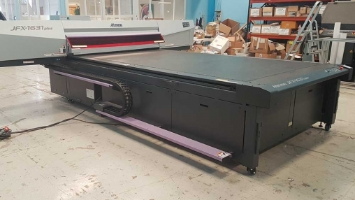 For Sale: Mimaki JFX 1631 Plus Flatbed - Used product