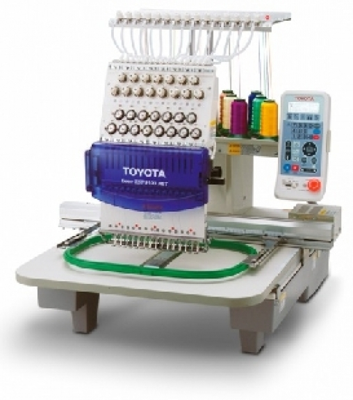 For sale toyota expert esp net embroidery machine
