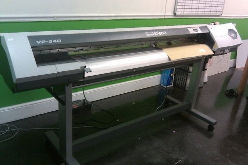 Roland Versacamm VP540 Wide Format Printer/Cutter