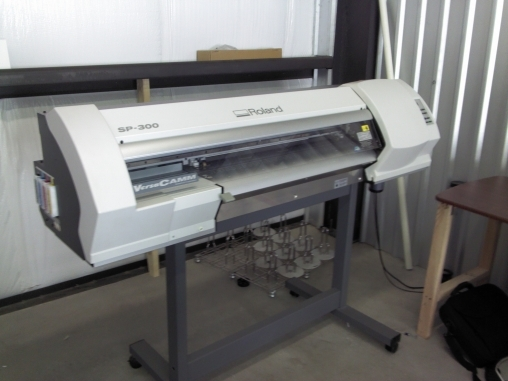 Roland Versacamm SP-300 & Entire Sign Shop Contents