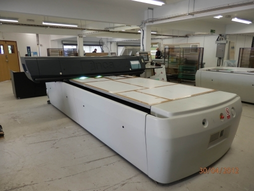 For sale 1 x flat bed digital printer for sale used product - Hoofd fluwelen bed ...