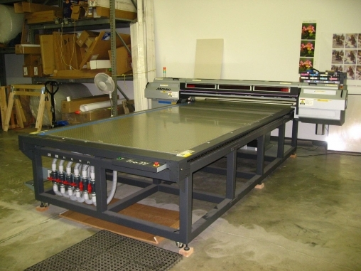 For Sale: MIMAKI JF-1631 UV FLATBED PRINTER - Used product