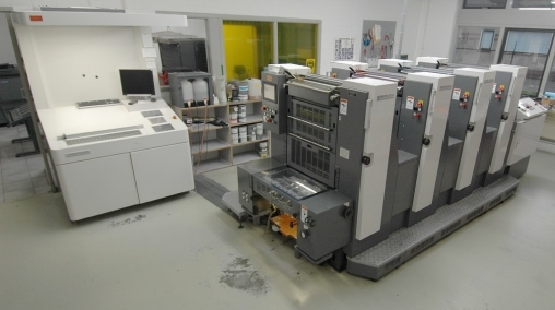 Shinohara 52-4P Printing machine - Four Color